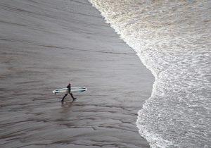Die Wellen reiten lernen